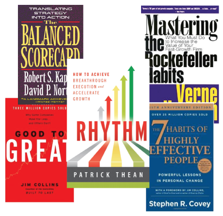 Good to Great - Balanced Scorecard - Rhhthm - Mastering the Rockefeller Habits - 7 Habits of Highly Effective People