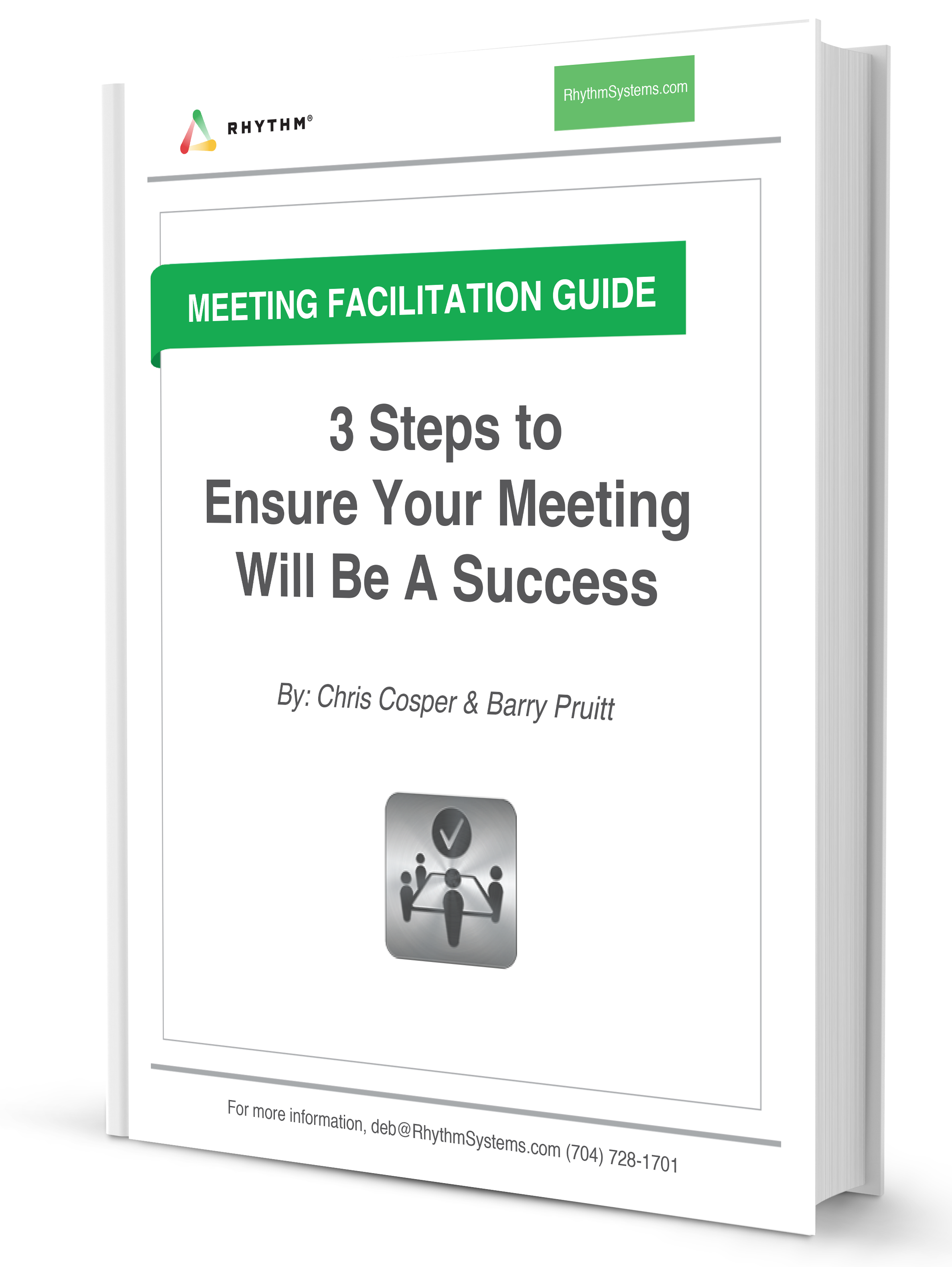 3 Steps to Ensure Your Meeting Will Be A Success