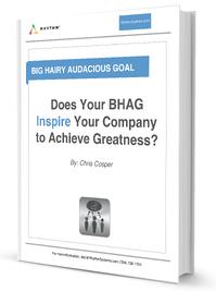 BHAG – Big Hairy Audacious Goal