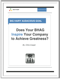 BHAG Guide - Big Hairy Audacious Goal