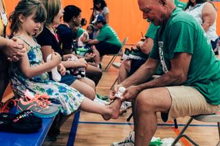 Breakthrough Conference Sponsor Samaritans Feet