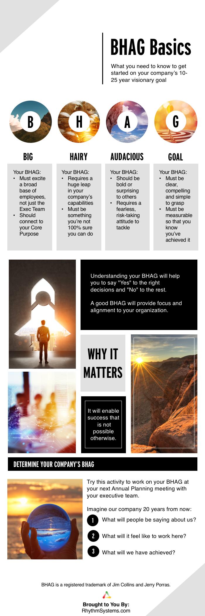 BHAG Basics Infographic