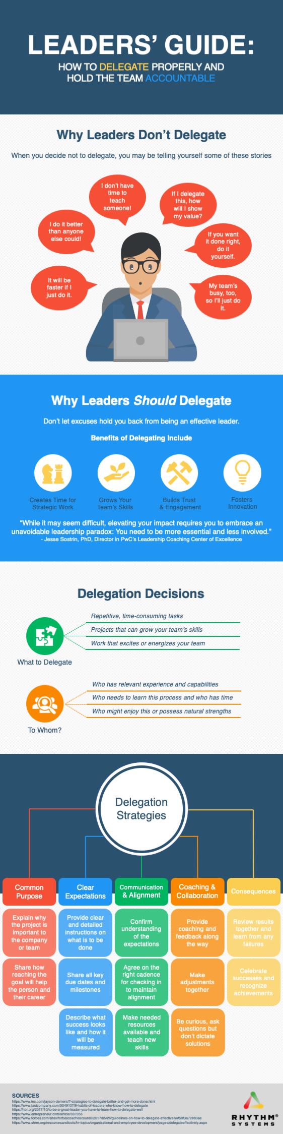 Delegation Infographic