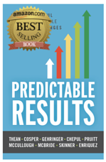 Predictable Results Book with Best Selling Badge