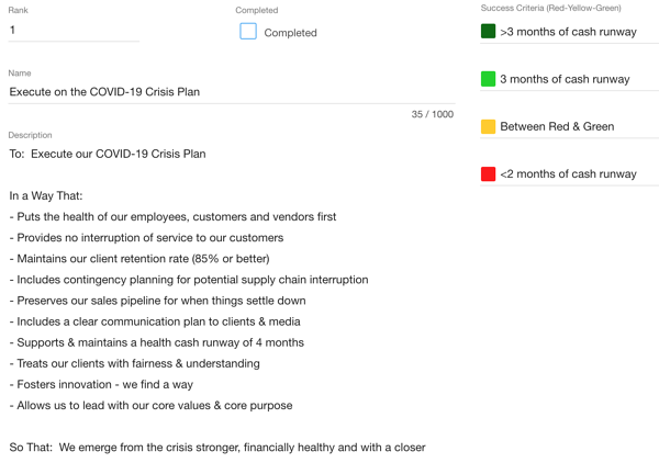 covid19 plan business continuity plan