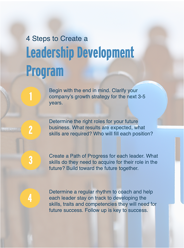 Leadership Development Infographic