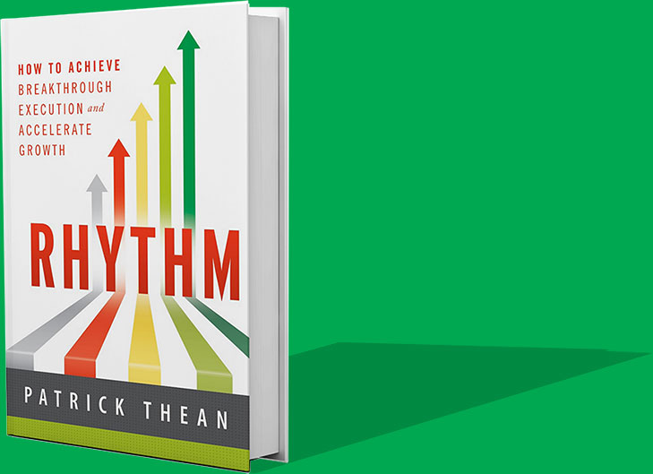 Rhythm book by Patrick Thean, CEO of Rhythm Systems.