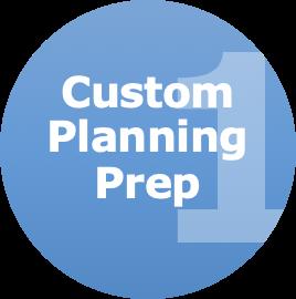 custom planning prep