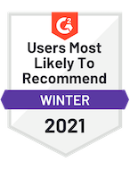 g2 2021 recommend badge