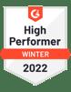 g2 Badge High Performer Fall 2021