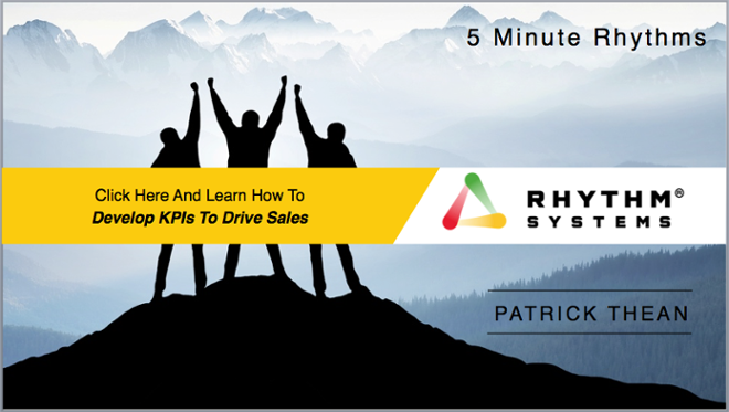 5 Minute Rhythm-KPIs To Drive Sales