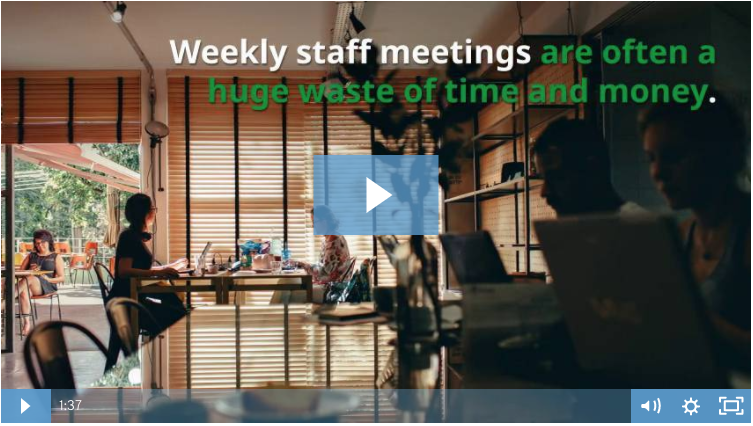 4 Easy Steps to Fix Your Weekly Staff Meeting