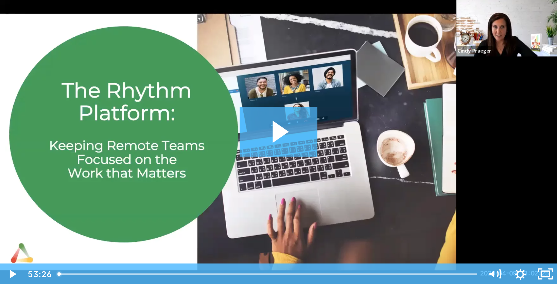 The Rhythm Platform: Keeping Remote Teams Focused on the Work that Matters