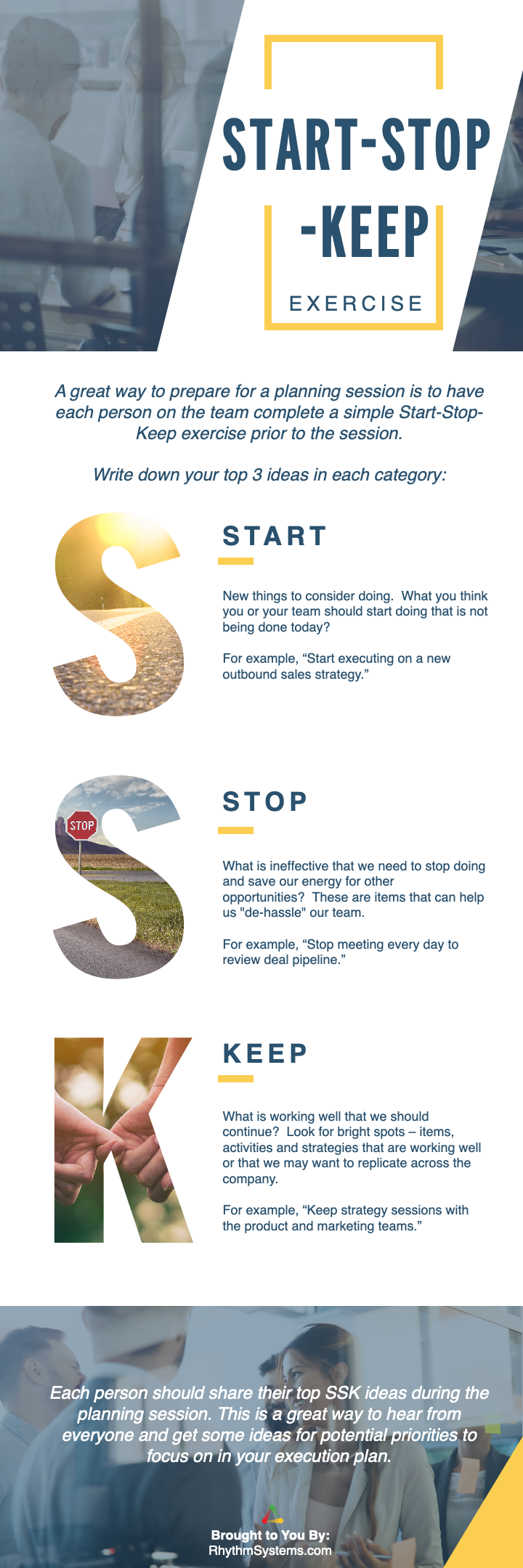 Start-Stop-Keep Graphic