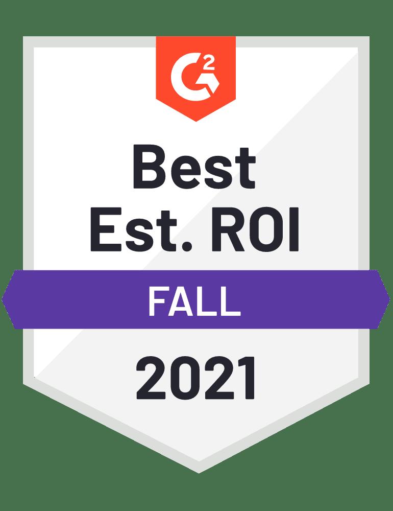 G2 Best ROI Strategic Planning Software