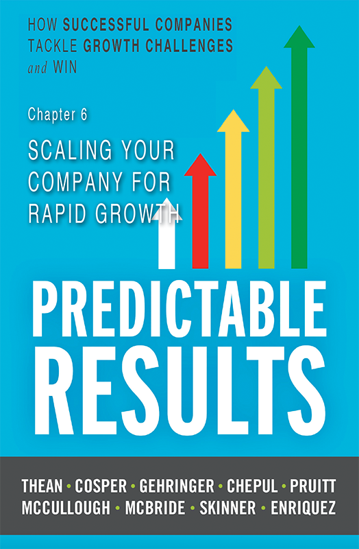 Chapter 6 - Scaling Your Company For Rapid Growth